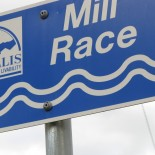 Mill Race sign