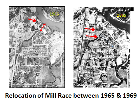 Relocation Mill Race 1965-69
